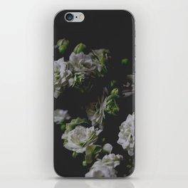 White Kalanchoe iPhone Skin