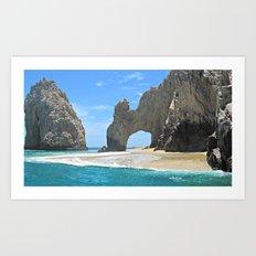 Los Arcos, Lands End Arch, Mexico Art Print