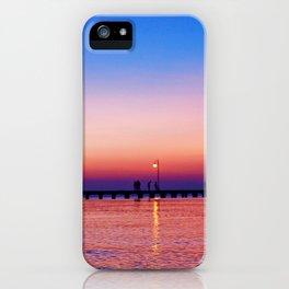 Aegean sunset iPhone Case