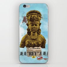 El Maravilloso Rey iPhone & iPod Skin
