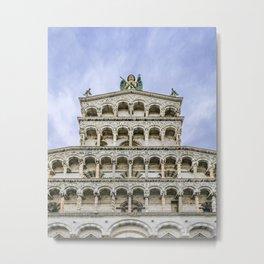 San Martino Cathedral, Lucca, Italy Metal Print