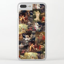Arthurian Romances Clear iPhone Case