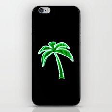 Palm Tree (Neon) iPhone & iPod Skin