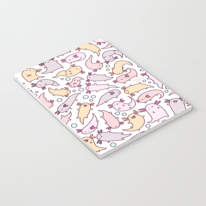 Adorable Axolotls Notebook