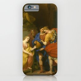 Anton von Maron - The Return of Orestes (1786) iPhone Case