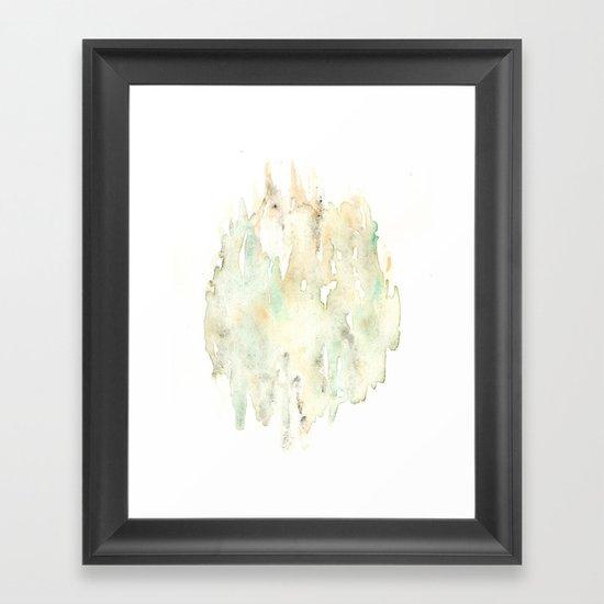 Fungi Background Framed Art Print