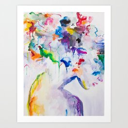 Mixed Emotions Art Print
