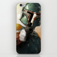 boba iPhone & iPod Skins featuring Boba by Yvan Quinet