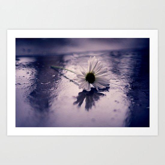 Once Upon a Rainy Day Art Print