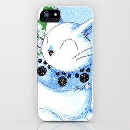 Snowcat iPhone Case