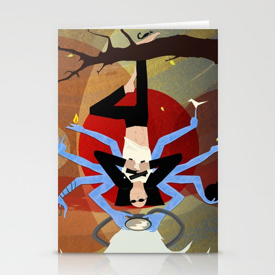 Hung Mob Stationery Cards