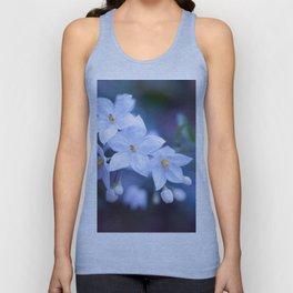 Jasmine Nightshade Flowers #3 #floral #art #society6 Unisex Tank Top