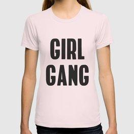 Girl Gang Feminist Art T-shirt
