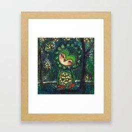 Sharing Her Heart, She Healed Framed Art Print