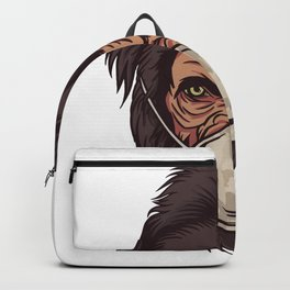 Gorilla Face Backpack