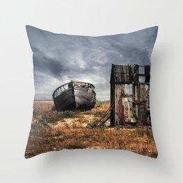 Fisherman Memories Throw Pillow