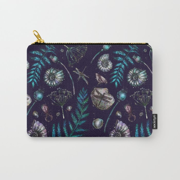 Mystical natural pattern Carry-All Pouch