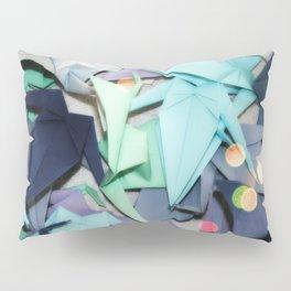 Senbazuru | shades of blue Pillow Sham