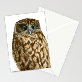 New Zealand Morepork Stationery Cards