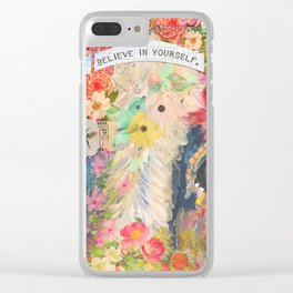 Frida's Pet Cow Clear iPhone Case