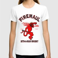 whisky T-shirts featuring Firemaul Whisky by Ant Atomic