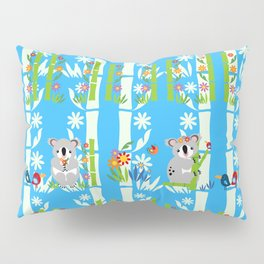 Cute pair of koalas Pillow Sham