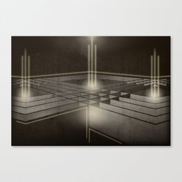 LOST.GLOWING_SATELLITES [06.12.13] Canvas Print