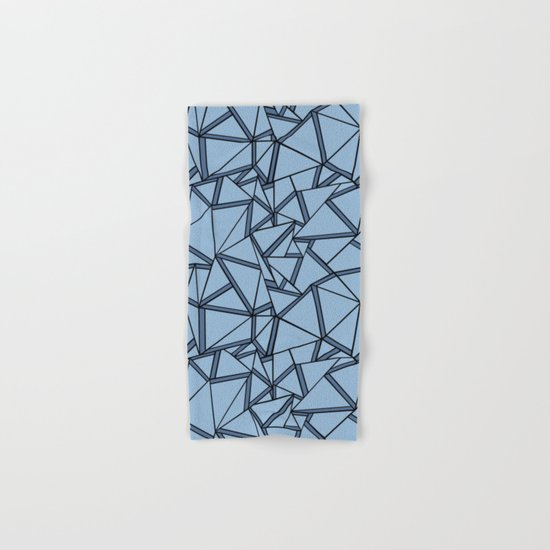 Ab 2 Blues Hand & Bath Towel