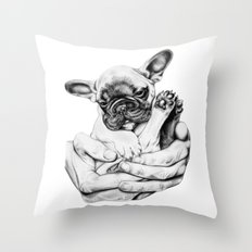 A little something sweet. Throw Pillow