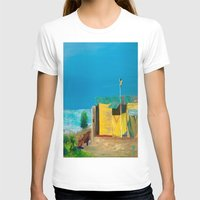 jamaica T-shirts featuring Jamaica. Jamaican Blues by ANoelleJay