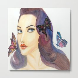 butterfly me Metal Print