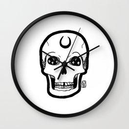 NUMB-SKULL Wall Clock
