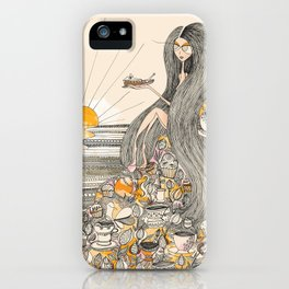 Toffee Sunset iPhone Case