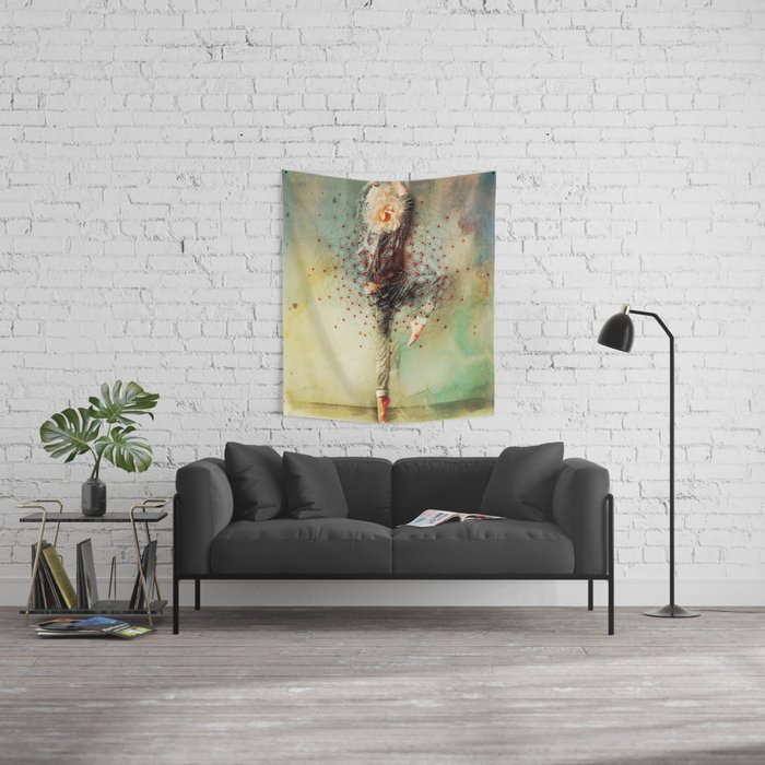 The Dancer Wall Tapestry