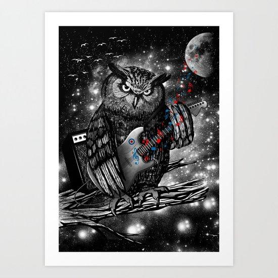 The Hoo Art Print