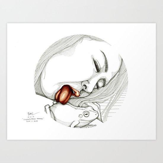 Oskana's Prince Charming Art Print