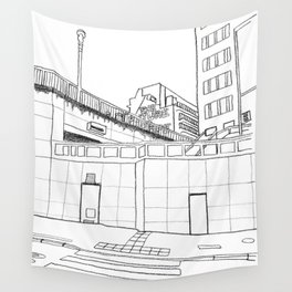 Brussels city - The Future is ... Wall Tapestry