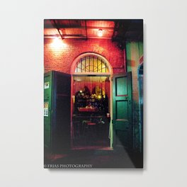 Absinth Bar Metal Print