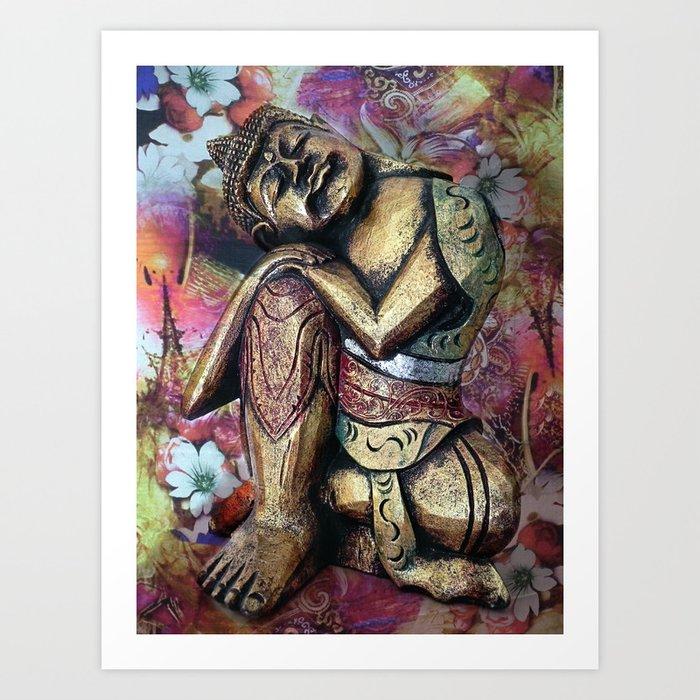harmony and silence Art Print