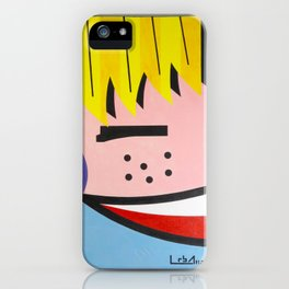 Little Blondie - Paint iPhone Case