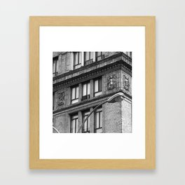 8 Cherubs NYC BW Framed Art Print