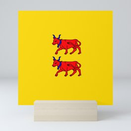 Flag of Béarn Mini Art Print