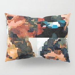 Fab Four Fan Art - Let It Be Watercolor Painting Pillow Sham
