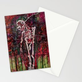 Skeleton Woman Stationery Cards