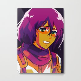 Mikasa Ackerman Metal Print