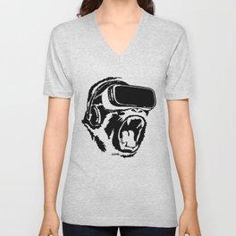 VR Gorilla Unisex V-Neck