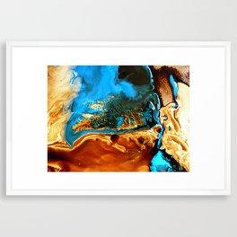 Molted Framed Art Print