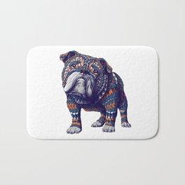 English Bulldog (Color Version) Bath Mat
