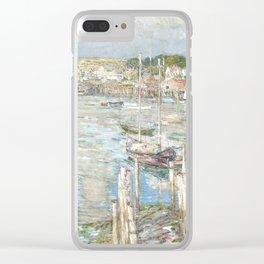 Childe Hassam - Gloucester Clear iPhone Case