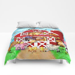 Barnyard Yahoos Comforters